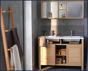 meuble salle de bain vente agencement pose installation montage sanary a08 salle de bain. Black Bedroom Furniture Sets. Home Design Ideas