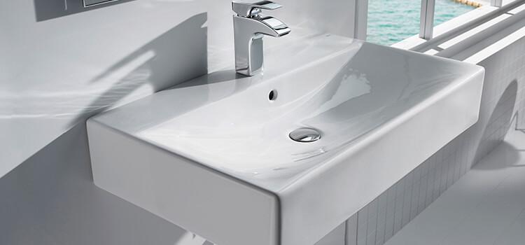 salle de bain lavabo vasque rénovation pose installation - Installer Un Lavabo Salle De Bain