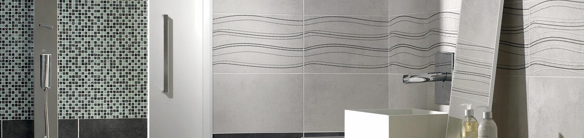 Salle de bain travaux de carrelage fa ence pose installation sanary - Pose de faience salle de bain ...
