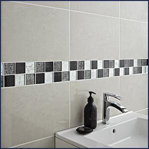Salle de bain travaux de carrelage faience pose for Pose de faience salle de bain
